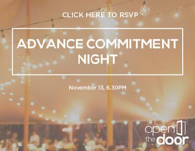 Advance Commitment Night